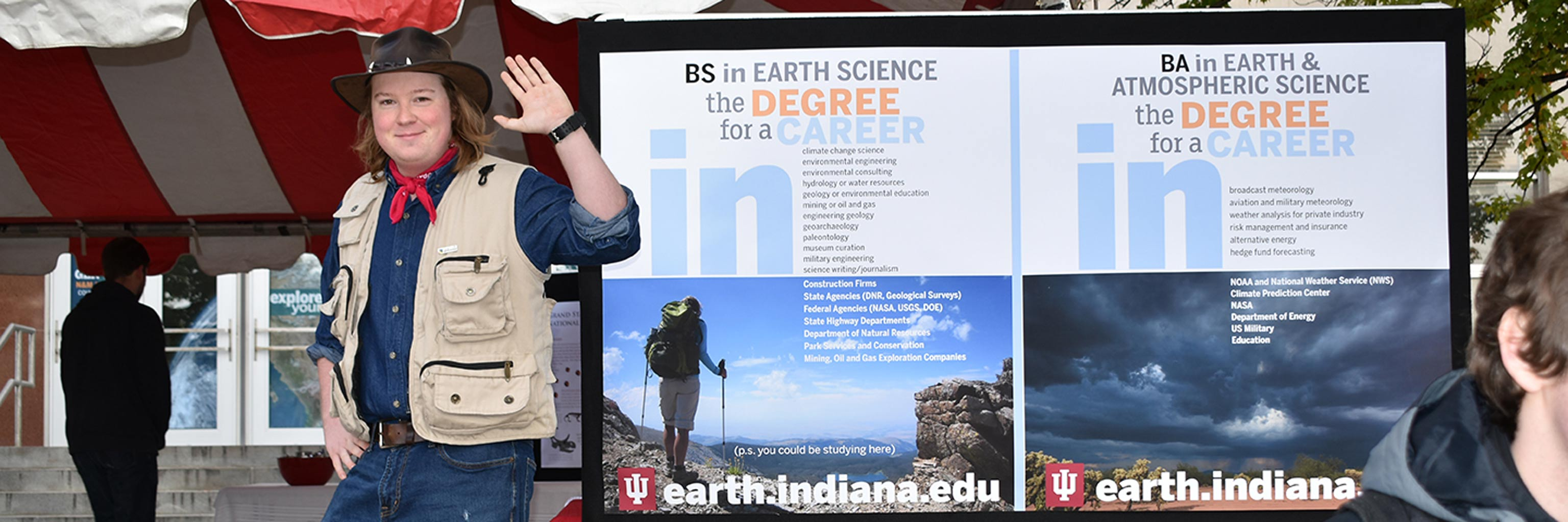 Earth and Atmospheric Sciences department meet and greet